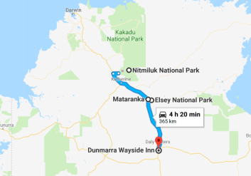 Nitmiluk National Park to Dunmarra Wayside Inn Google Maps_(24_oct_2017_02)